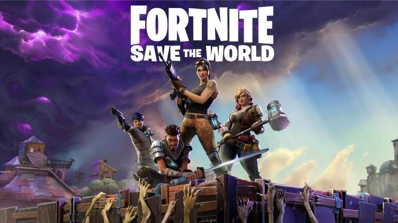 Fortnite: Save the world box art