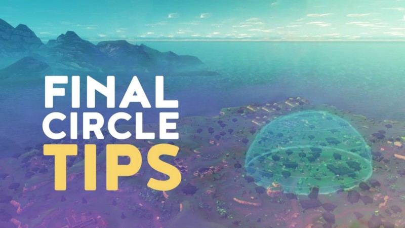 Image of the Final Circle in Fortnite
