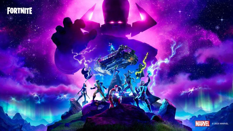 Image of Galactus Fortnite event